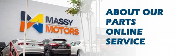 About Massy Motors Parts Online Service